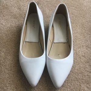 "Shoes - White kitten heel ""flats"""